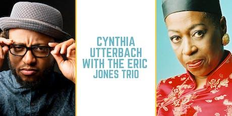 Cynthia Utterbach with the Eric Jones Trio tickets