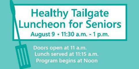 Healthy Tailgate Luncheon Vendor Sign Up ($30)