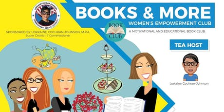 Books & More Women's Empowerment Club Tea - July 2019 tickets
