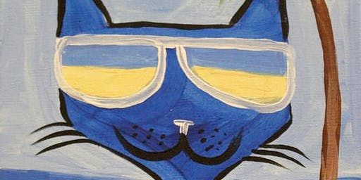 Family Fun Creative Canvas - Cool Cat