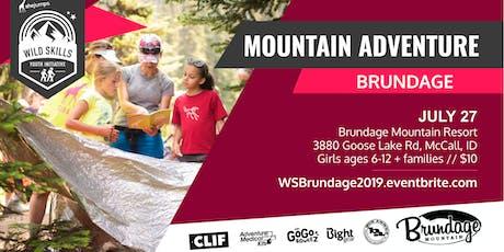WILD SKILLS Mountain Adventure: Brundage tickets