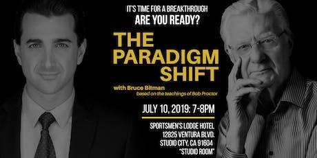 THE PARADIGM SHIFT tickets