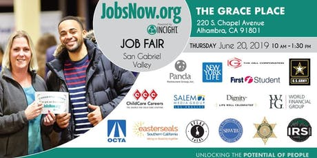 San Gabriel Valley Job Fair tickets