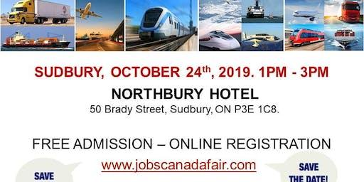 Sudbury Transportation Job Fair – October 24th, 2019