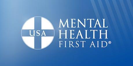 Mental Health First Aid Training 7/18 tickets