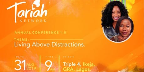 Tariah conference 1.0 tickets