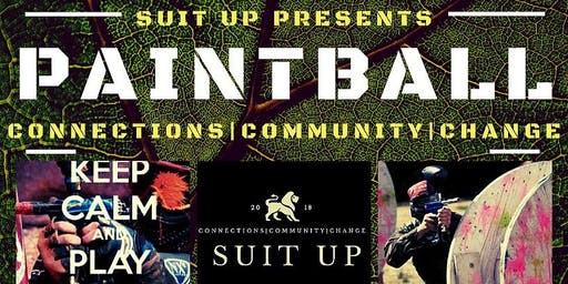 PAINTBALLING (SUIT UP STYLE)