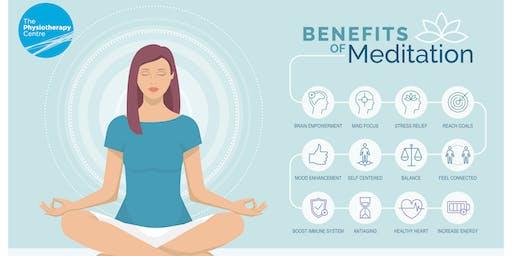 Meditation Workshop Led by a Physiotherapist