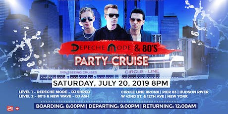 Depeche Mode & 80's Party Cruise tickets