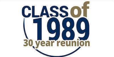 SPX Class of 1989 30-Year Reunion