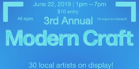 Modern Craft tickets