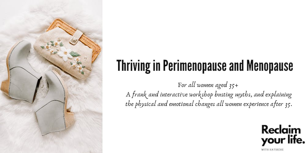 Thriving in Perimenopause and Menopause