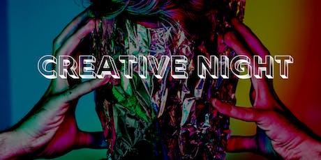 Creative Night tickets