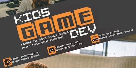 Kids Game Dev Term 2 Holiday Program tickets