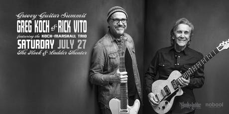 Greg Koch & Rick Vito - Groovy Guitar Summit tickets