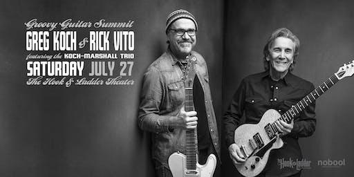 Greg Koch & Rick Vito - Groovy Guitar Summit