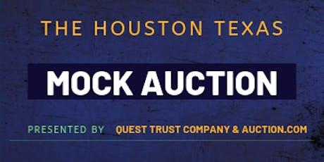 Houston Mock Auction tickets