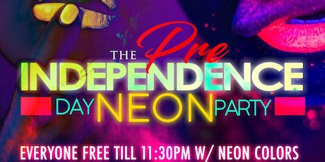 RED, WHITE, & NEON! Pre-Independence Day Bash! Wednesday July 3rd @ AURUM LOUNGE! RSVP NOW! (SWIRL) tickets