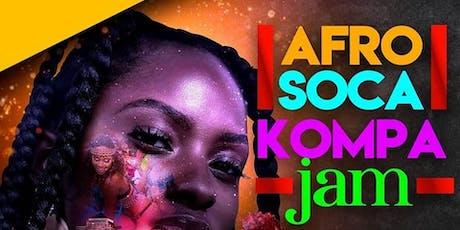 AFRO SOCA KOMPA & AFROBEATS, ROOFTOP DANCE BARTY tickets