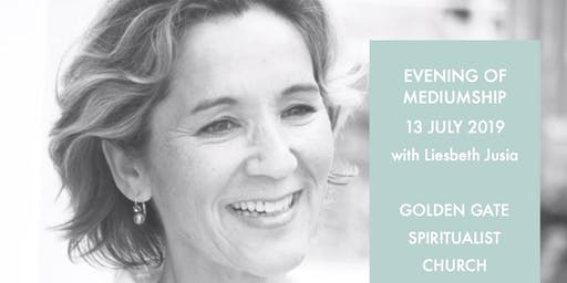Evening of Mediumship with Liesbeth Jusia