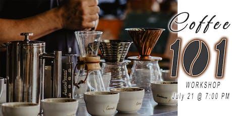 Coffee 101 Workshop tickets