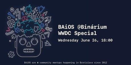 WWDC Special tickets