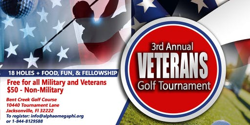 Veterans Golf Tournament (Free for Active military & Veterans)