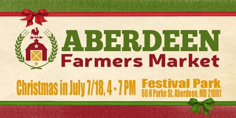 Christmas in July: Aberdeen Farmers Market tickets