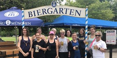 Beer Garden Yoga - Estabrook Beer Garden