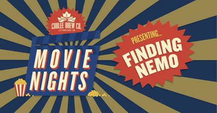 Coulee Movie Nights - Finding Nemo billets