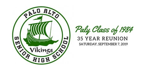 Palo Alto High School Class of 1984 35th High School Reunion tickets