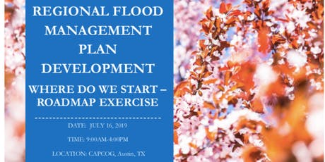 You're Invited! July 16, 2019: Urban Waters Hurricane Harvey Planning Workshop, Austin, TX tickets