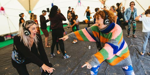 Uplifting Silent Disco on a Rooftop