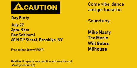 Caution: Day Party tickets