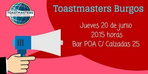 Sesión Toastmasters Burgos