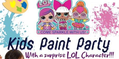Lol Surprise Kids Paint Party tickets