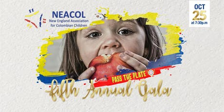 NEACOL GALA 2019  - PASS THE PLATE tickets