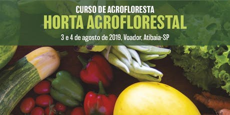 Curso de Agrofloresta  ingressos