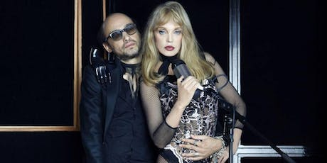 Arielle Dombasle and Nicolas Ker: electro-rock concert tickets