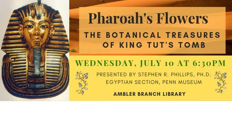 Pharoah's Flowers tickets