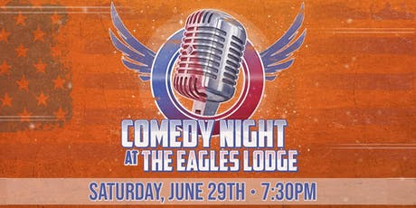 C-U Comedy Night (As seen on WCIA 3) at The Eagles Lodge tickets