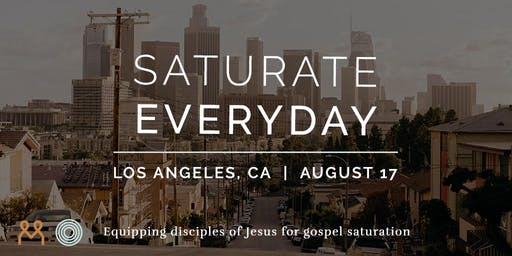 Saturate Everyday Los Angeles