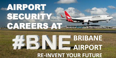 Airport Security Careers Free Information Session - Springwood tickets