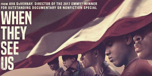 """Gage East presents """"When They See Us"""" A panel discussion on social justice"""