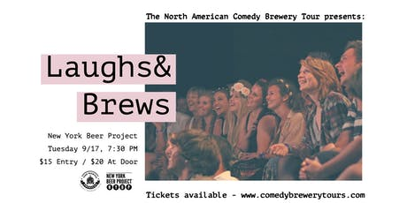 The North American Comedy Brewery Tour at New York Beer Project tickets