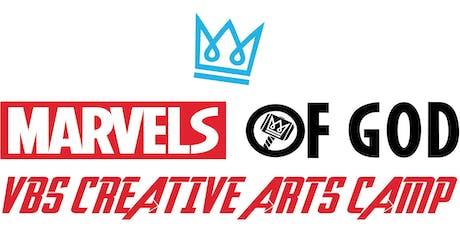 Creative Arts VBS Camp 2019- Redeemed Life Church tickets