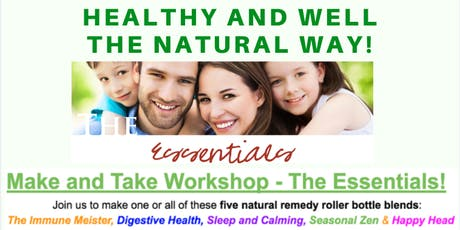 Essential Oil MAKE and TAKE Workshop tickets