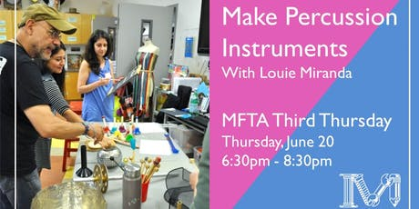 Make Percussion Instruments tickets