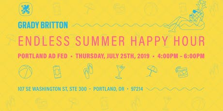 Extremely Happy Hour at Grady Britton tickets