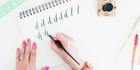 Hands - On Calligraphy Class